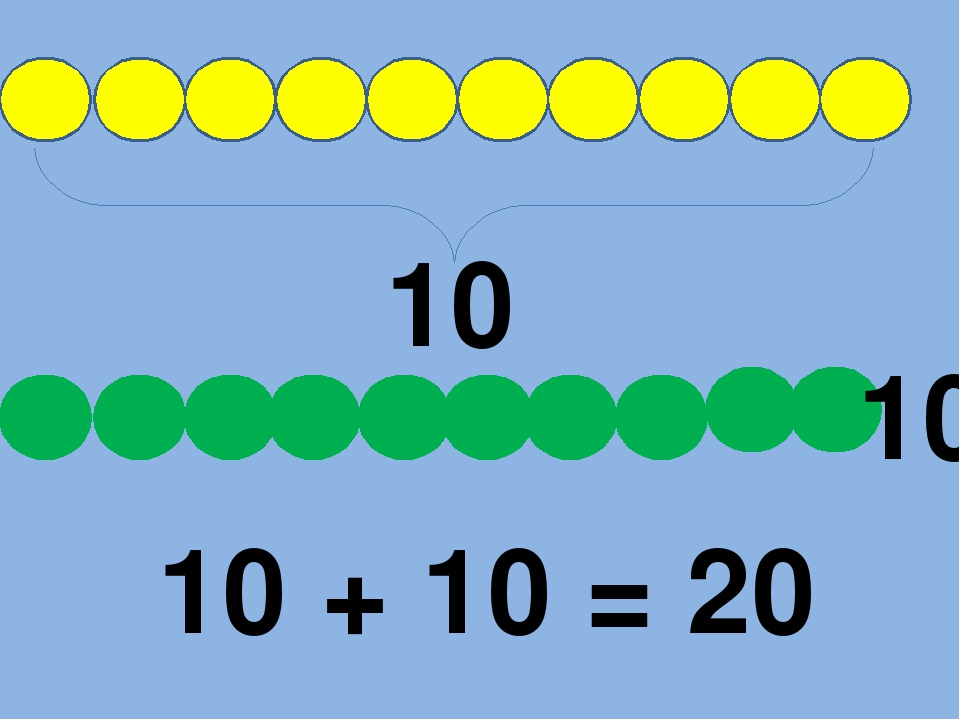 10 10 10 + 10 = 20