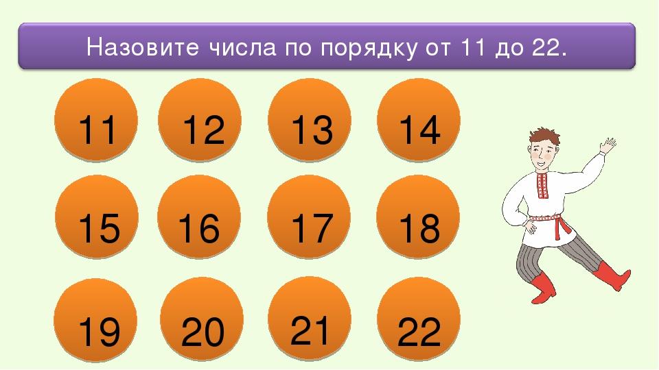 13 12 11 14 15 16 17 18 19 20 21 22