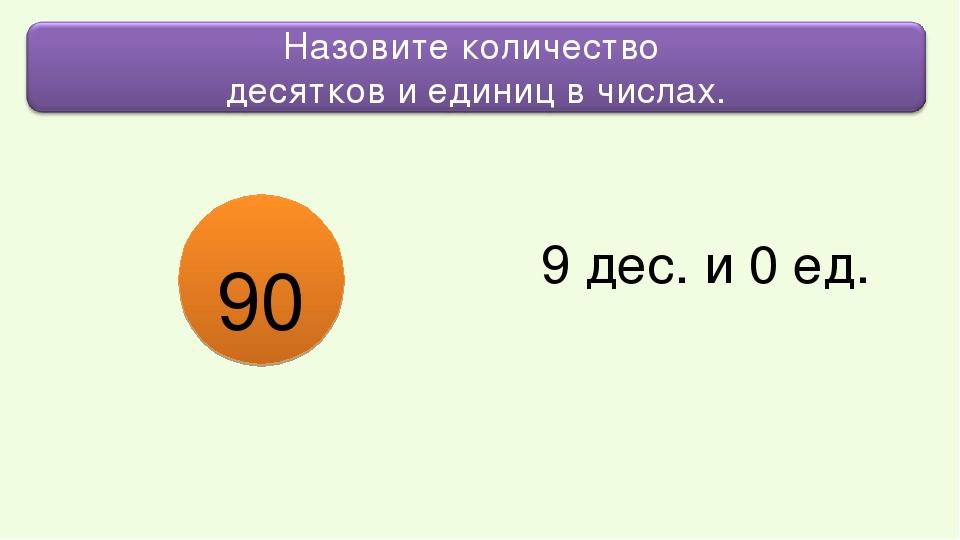 9 дес. и 0 ед. 90