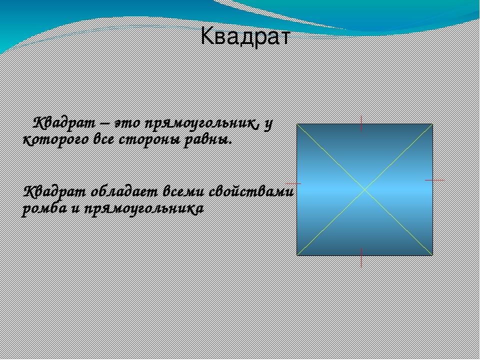 ПРОВЕРОЧНЫЙ ТЕСТ Iвариант IIвариант 3.Ромб – это четырёхуголь- ник, в котором...