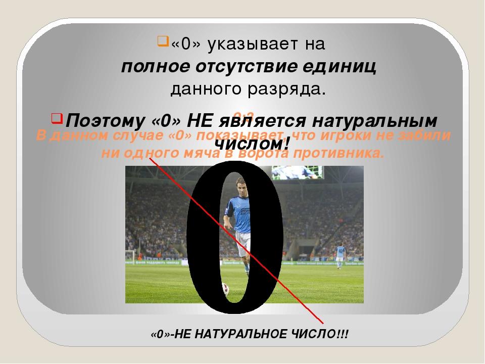 0:3 В данном случае «0» показывает, что игроки не забили ни одного мяча в вор...