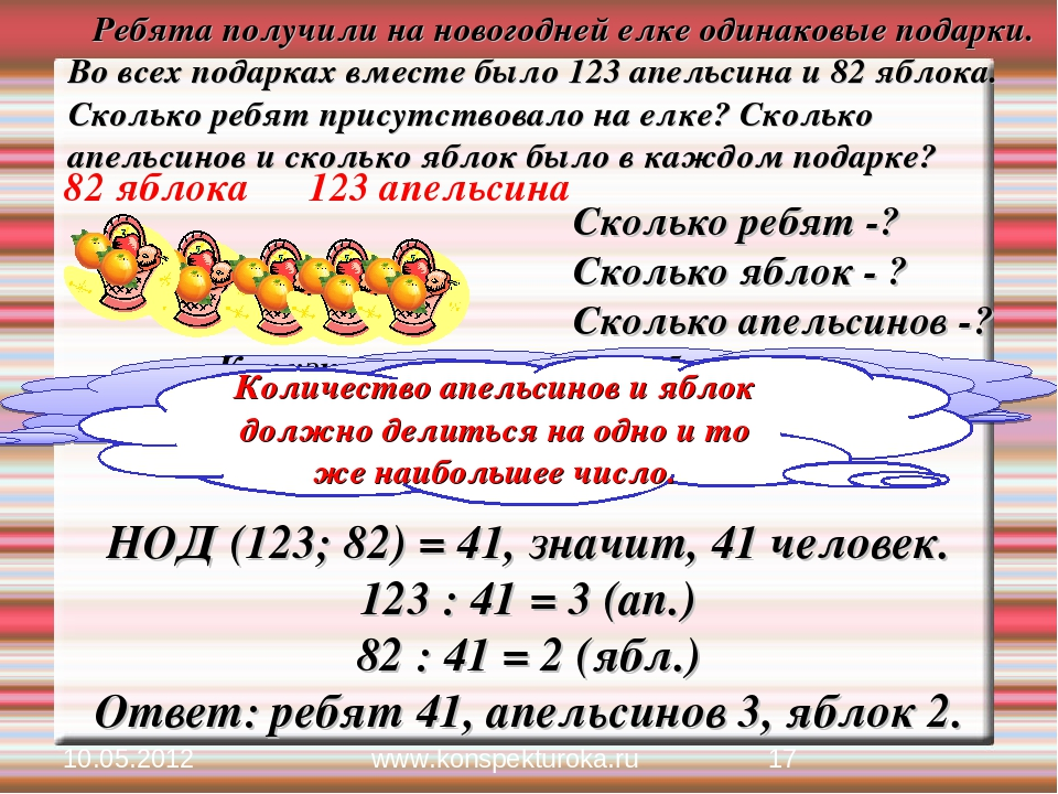 Как узнать, сколько ребят было на елке? 10.05.2012 * www.konspekturoka.ru Реб...