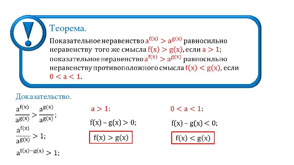 Теорема. Доказательство.