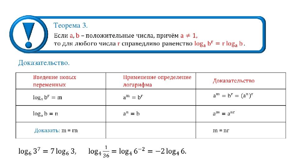 Теорема 3. Доказательство.