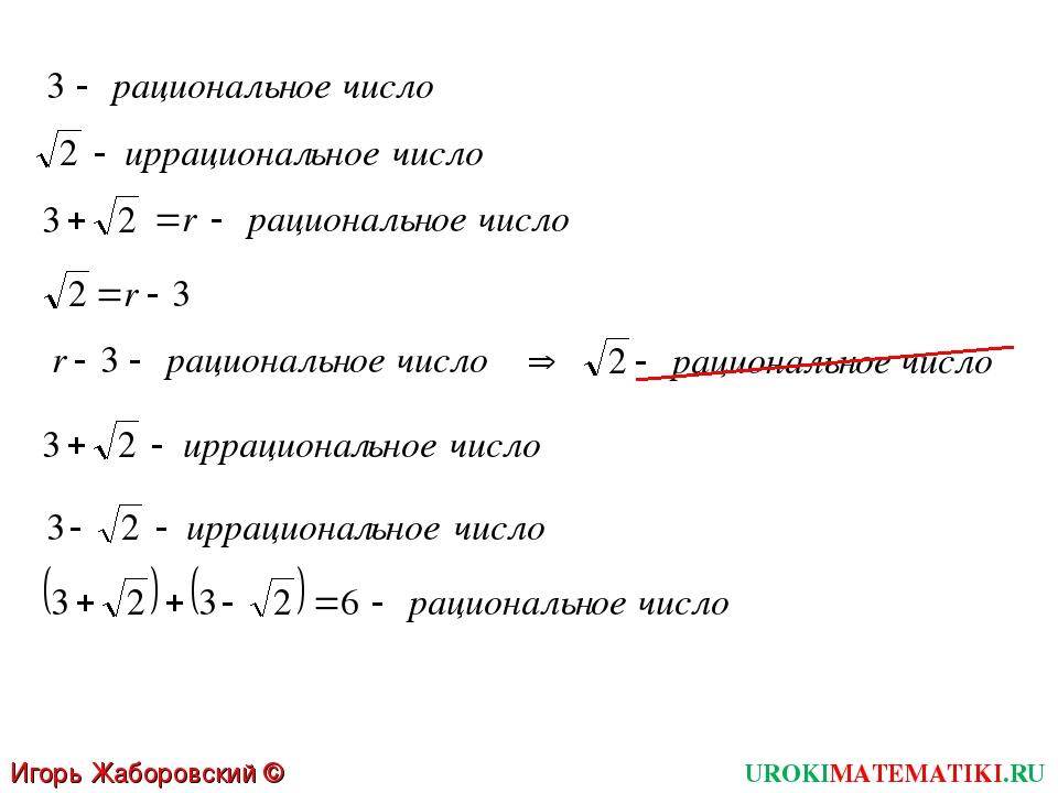 UROKIMATEMATIKI.RU Игорь Жаборовский © 2012