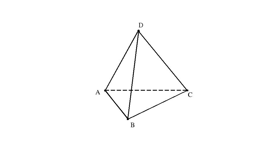 C D B A