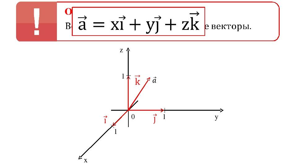 0 1 1 1 z y x Определение