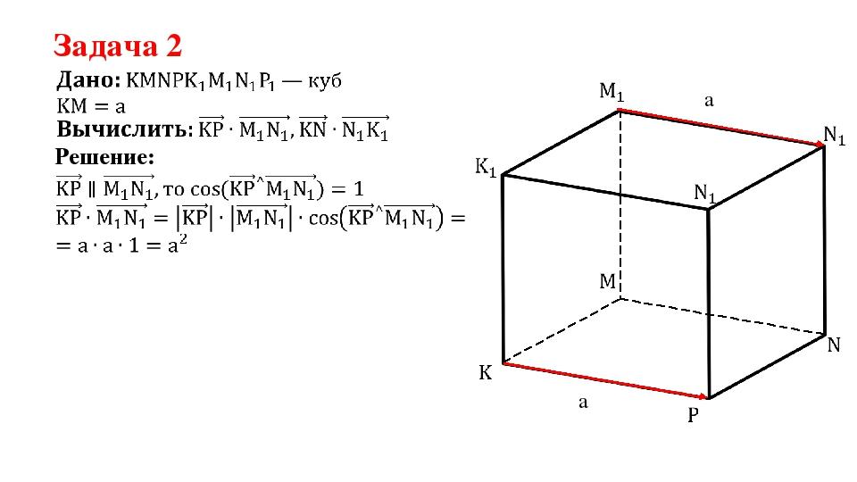 Задача 2 Решение: a a