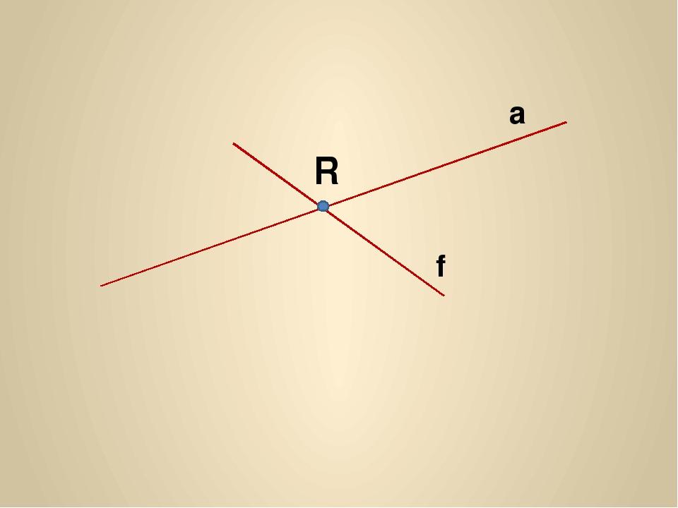 a f R