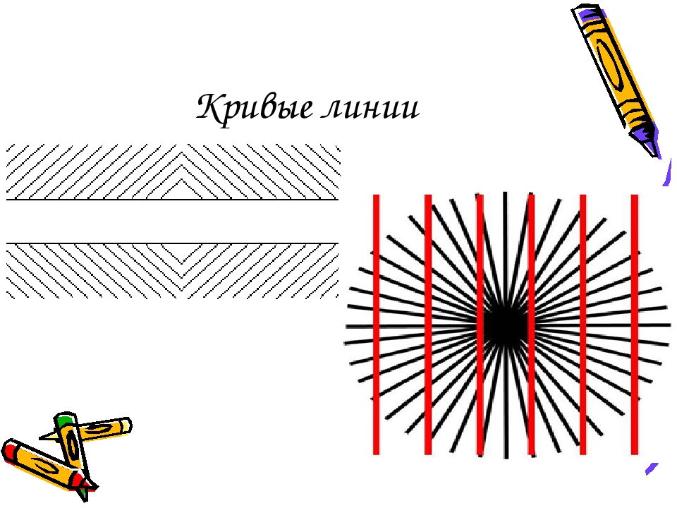 Кривые линии