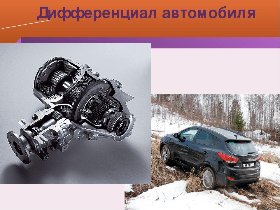 Дифференциал автомобиля