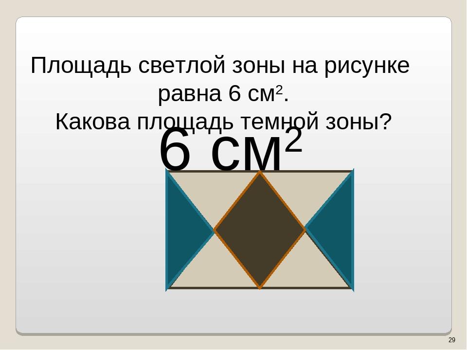 6 см2 * Власенко Юлия Сергеевна МОУ ООШ № 5 г. Качканар Свердловской области