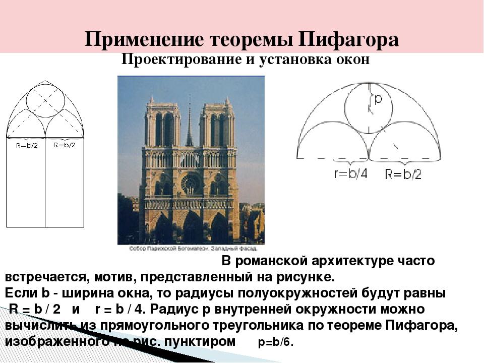 Проектирование и установка окон В романской архитектуре часто встречается, мо...