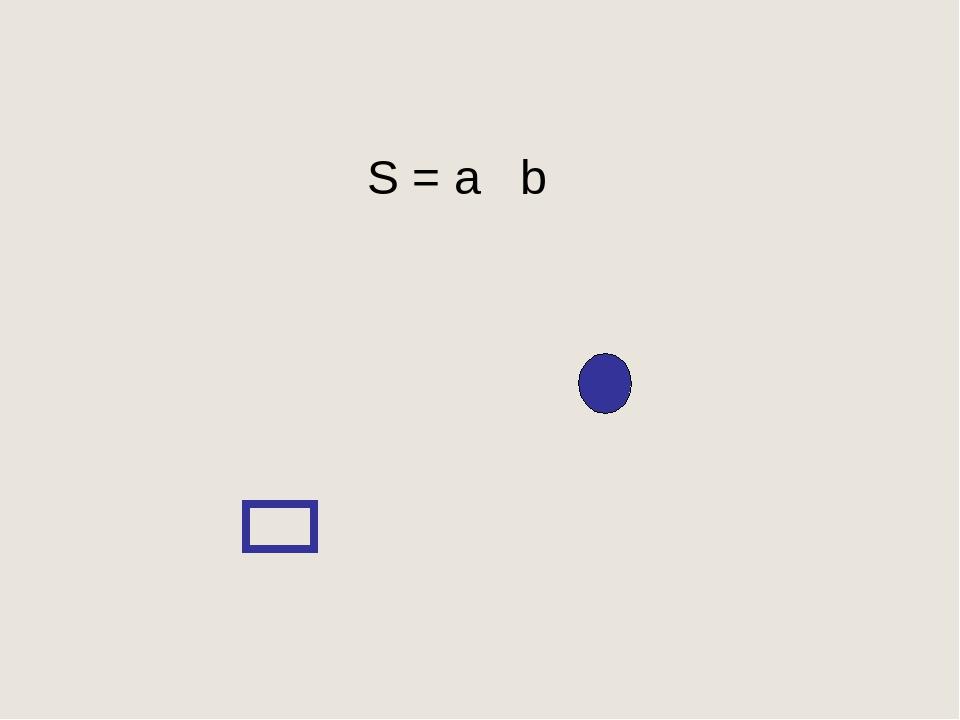 S = a b