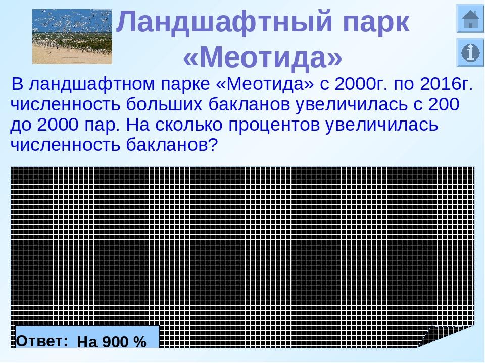 Ландшафтный парк «Меотида» В ландшафтном парке «Меотида» с 2000г. по 2016г. ч...