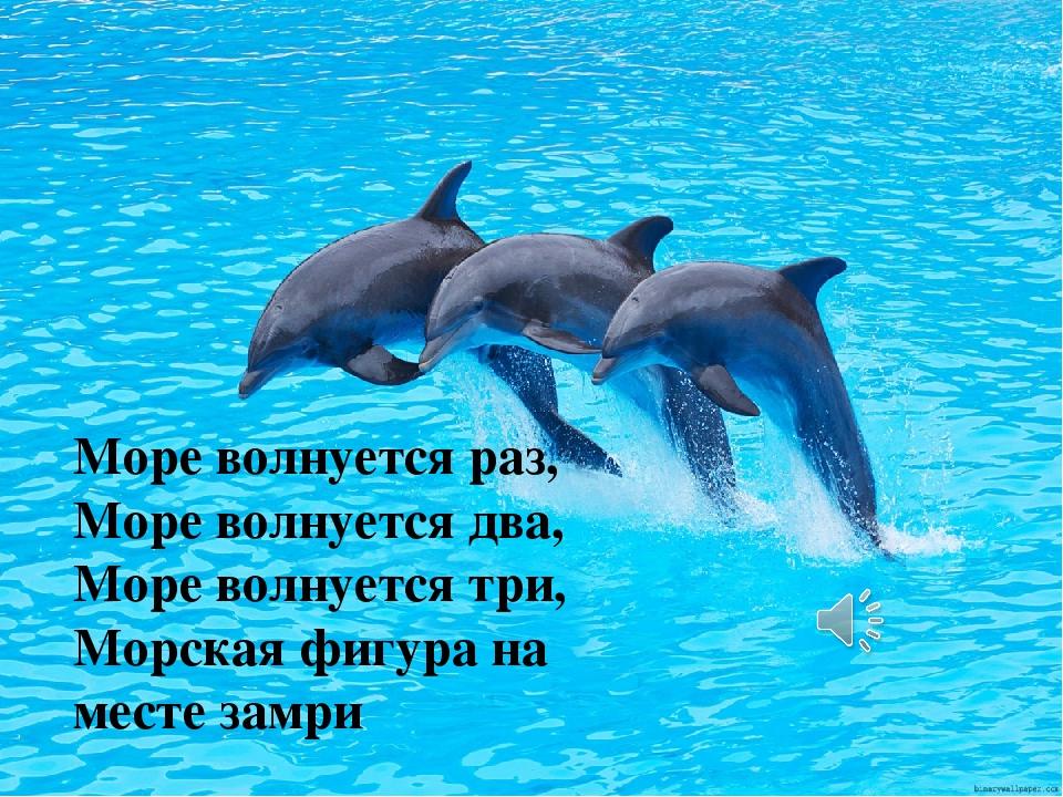 Море волнуется раз, Море волнуется два, Море волнуется три, Морская фигура на...