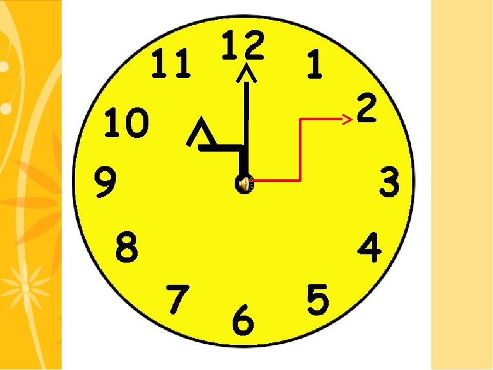 Посмотри - ка на часы - Стрелки здесь не для красы: Они указали для нас Секун...
