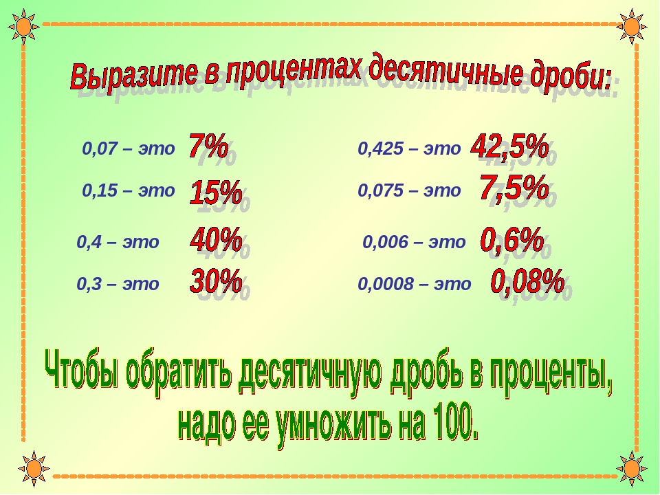 0,07 – это 0,15 – это 0,4 – это 0,3 – это 0,425 – это 0,075 – это 0,006 – это...