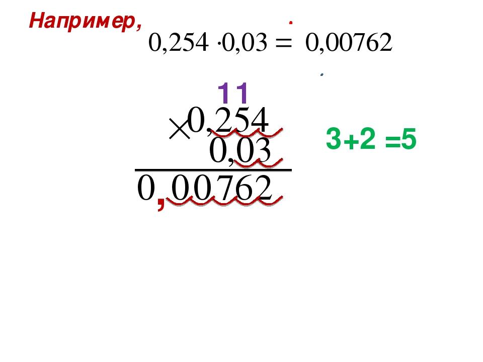 Например, 1 , 1 3 2 = + 5
