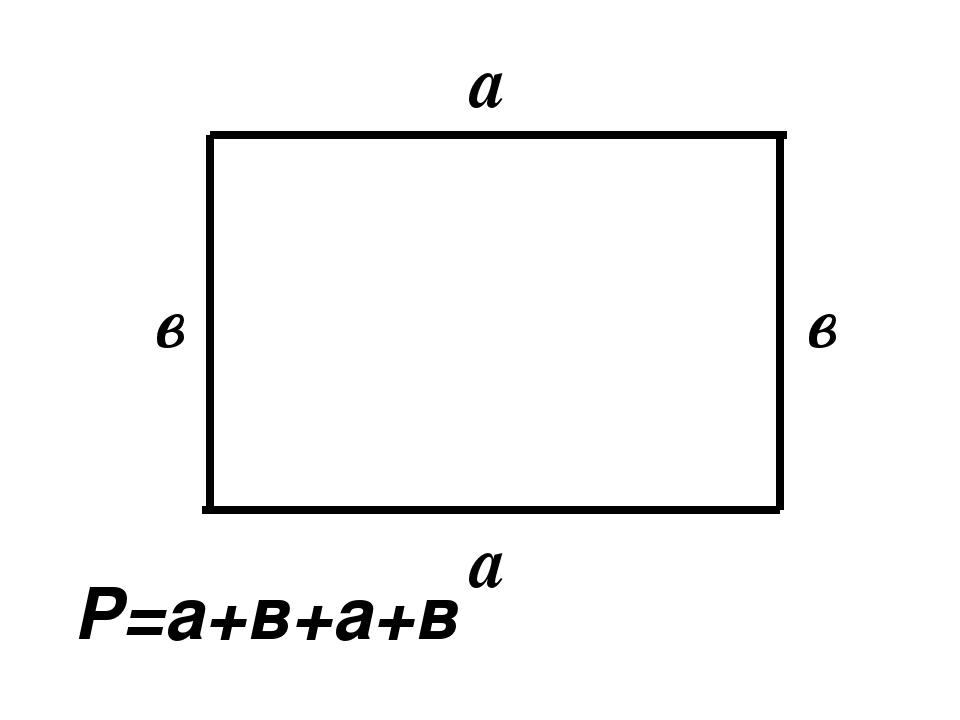 a a в в Р=а+в+а+в