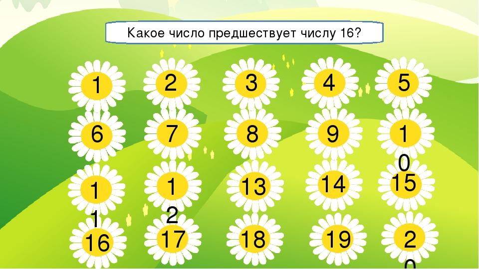 5 7 8 9 10 11 13 14 15 16 17 18 19 20 1 2 3 4 6 12 Какое число предшествует ч...