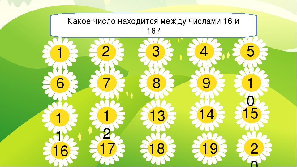 5 7 8 9 10 11 13 14 15 16 17 18 19 20 1 2 3 4 6 12 Какое число находится межд...