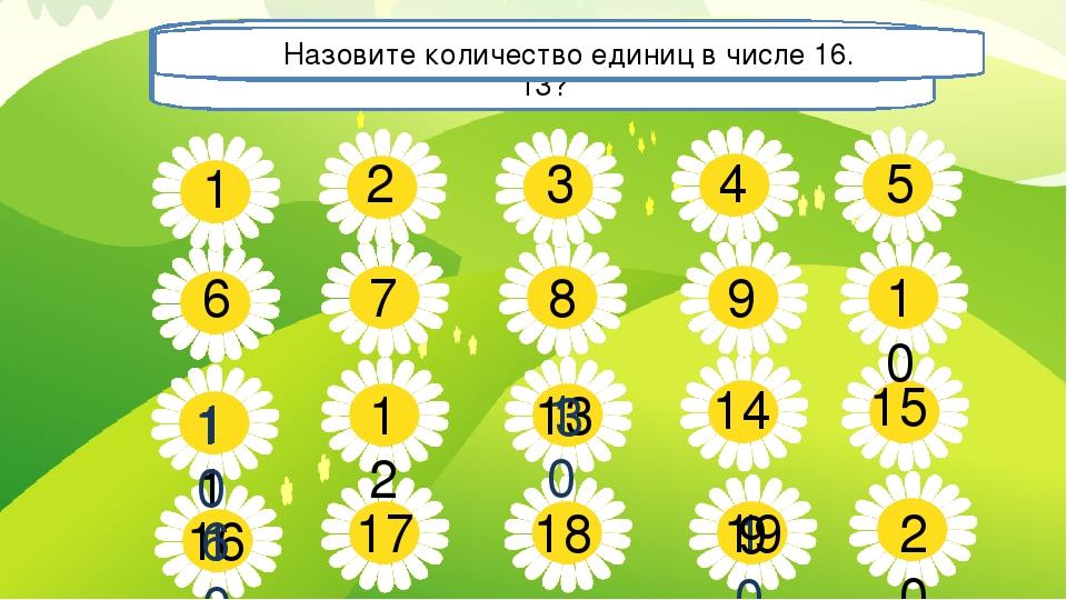 5 7 8 9 10 14 15 17 18 20 1 2 3 4 6 12 11 13 16 19 Сколько десятков и отдельн...