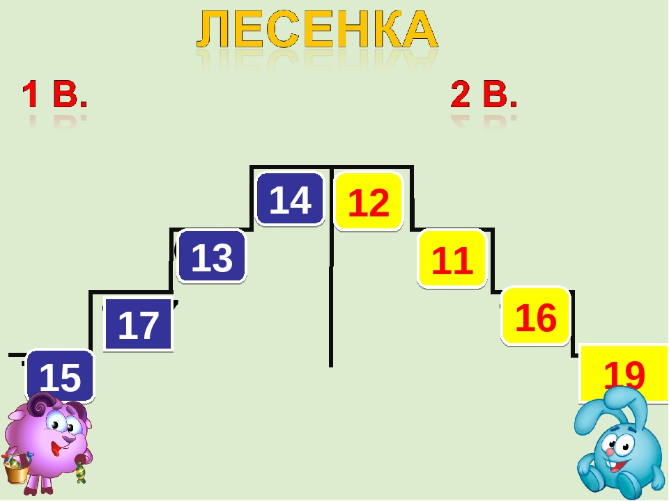 15 17 13 14 16 11 12 19