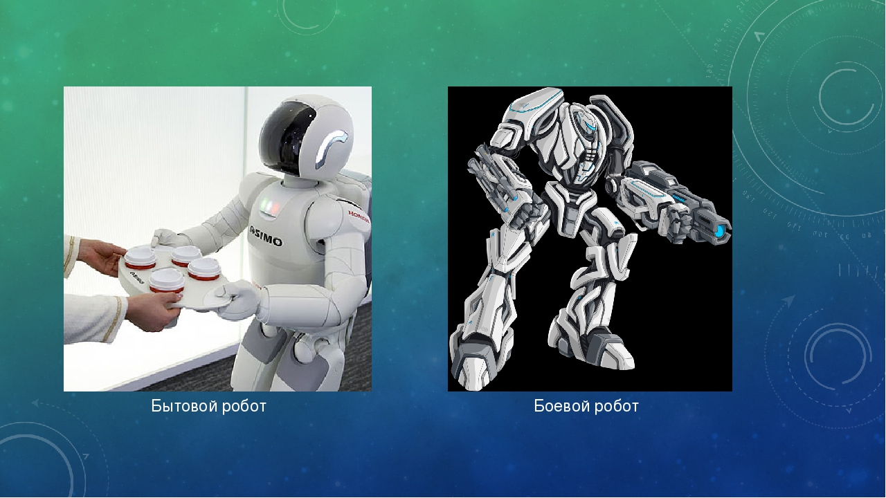 Боевой робот Бытовой робот