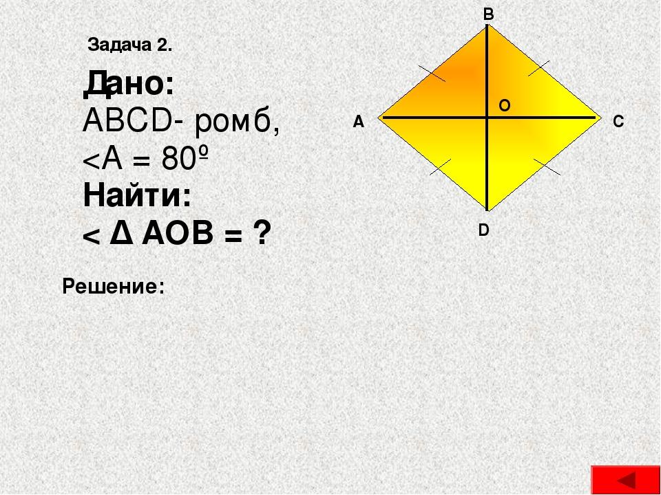 Квадрат Квадратом называется прямоугольник, у которого все стороны равны AB =...