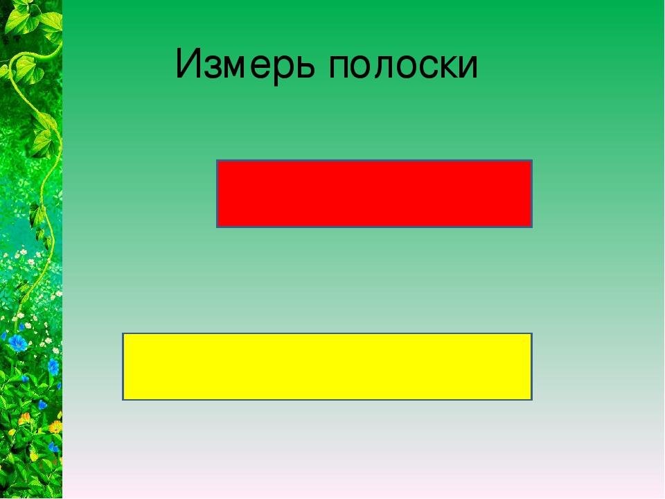 Измерь полоски