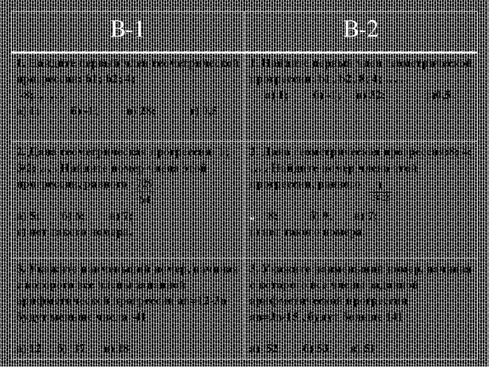 Домашнее задание Решите уравнение: 1+х+х2+…+х109=0 Найти в произведении Е.Оне...