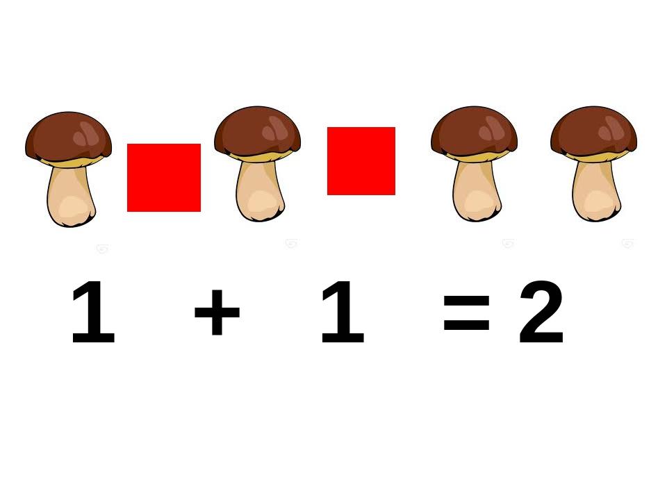 1 + 1 = 2
