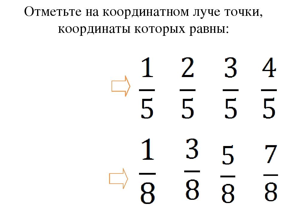 1 0 О А В С D Е 0 О 1 Е А В С D Пользуясь полученным координатным лучом, пост...