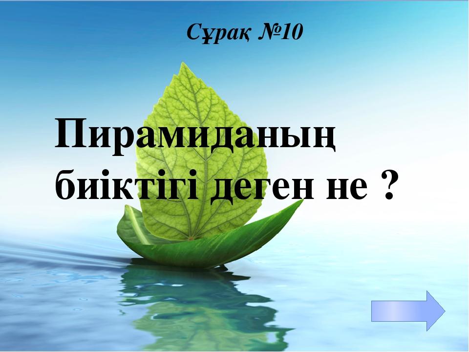 Үйге тапсырма Пирамида тақырыбына презентация жасау §3 п 3.1 №15