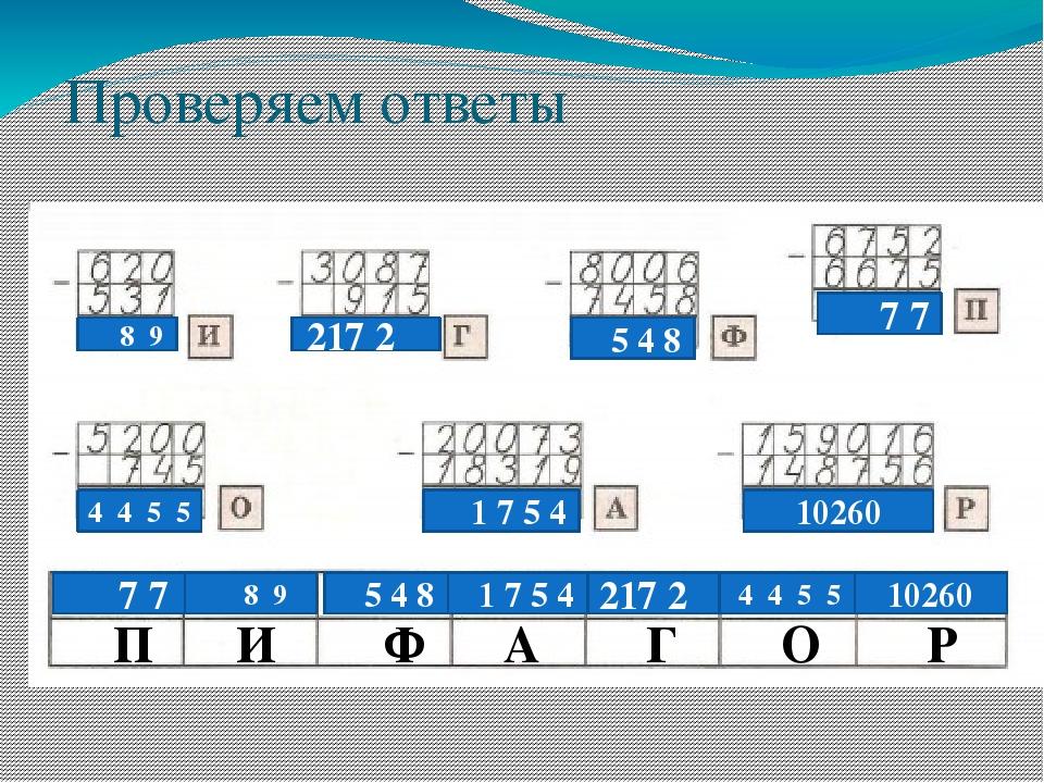 Проверяем ответы 8 9 217 2 5 4 8 7 7 4 4 5 5 1 7 5 4 10260 7 7 8 9 5 4 8 1 7...